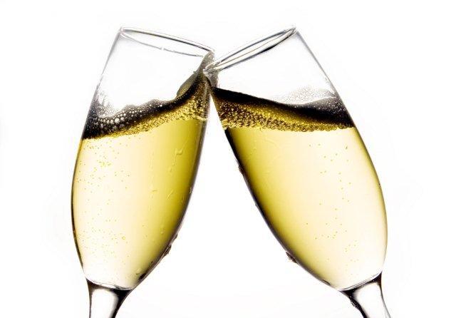 cheers 2 champagne glasses clinking oz arts nashville